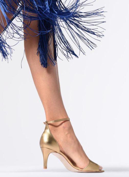 Sandaler L.K. Bennett Omya Guld og bronze se forneden