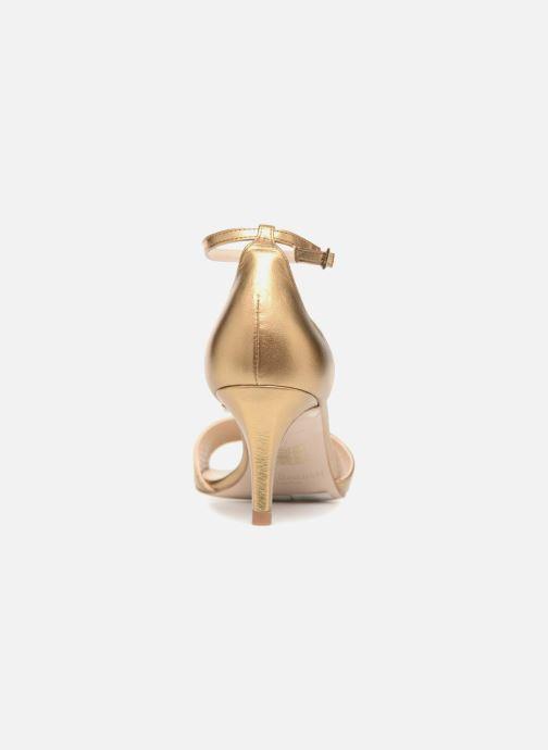 Sandaler L.K. Bennett Omya Guld og bronze Se fra højre