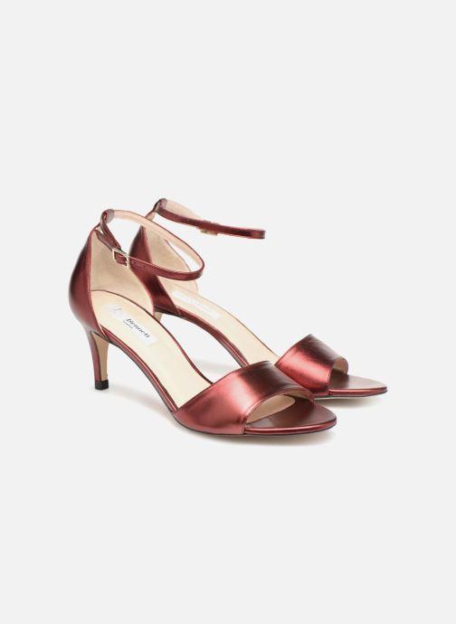 Sandales et nu-pieds L.K. Bennett Omya Bordeaux vue 3/4