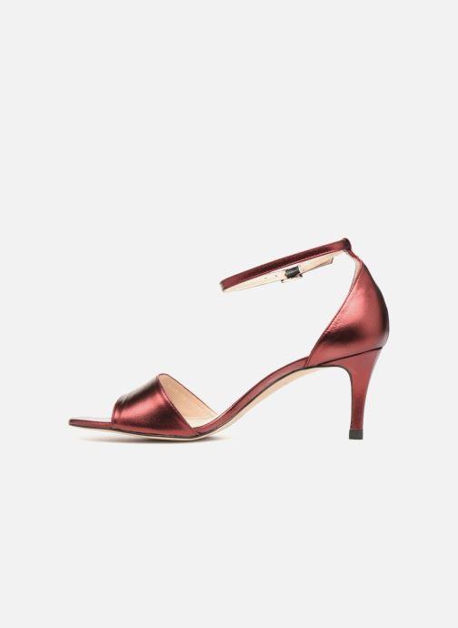 Sandales et nu-pieds L.K. Bennett Omya Bordeaux vue face