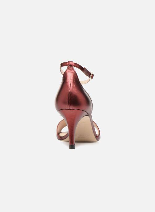 Sandali e scarpe aperte L.K. Bennett Omya Bordò immagine destra