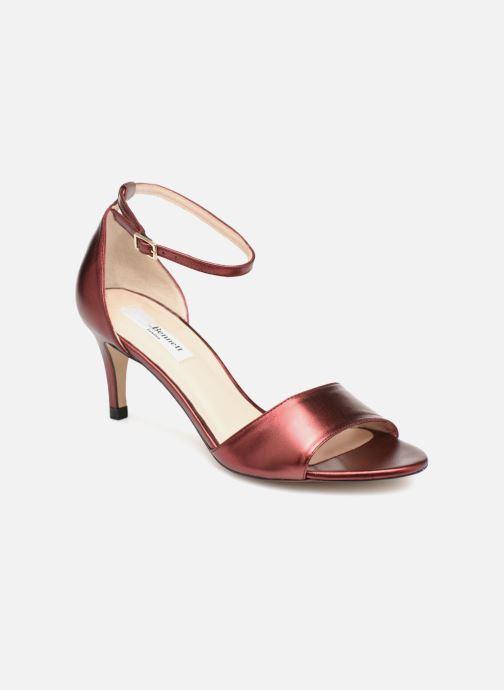Sandales et nu-pieds L.K. Bennett Omya Bordeaux vue détail/paire