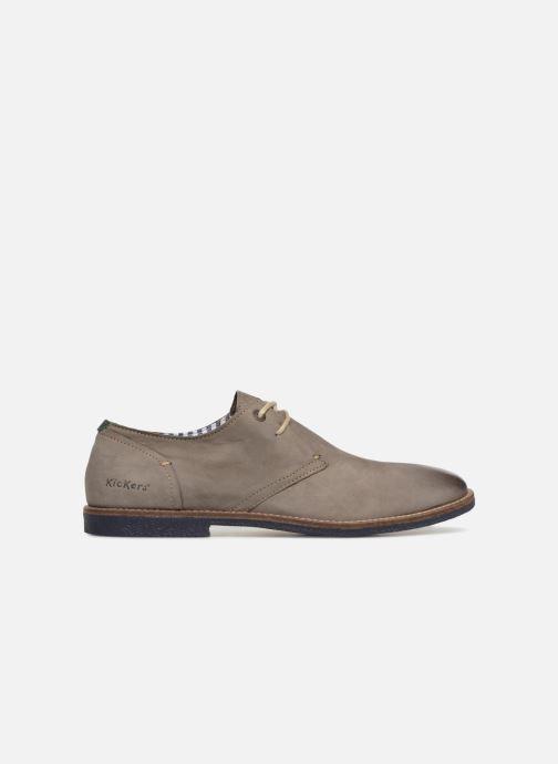 Chaussures à lacets Kickers Backus Gris vue derrière