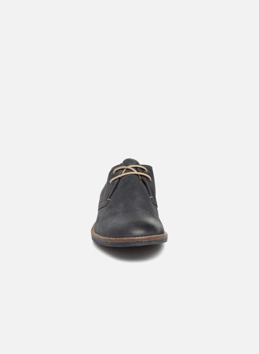 Chaussures à lacets Kickers Backus Bleu vue portées chaussures