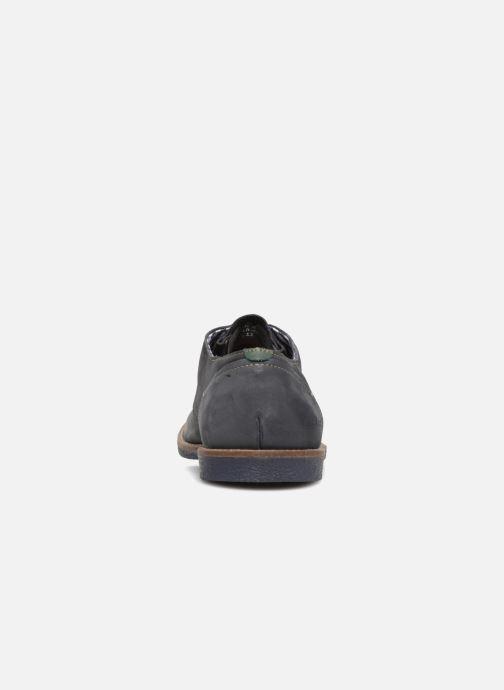 Chaussures à lacets Kickers Backus Bleu vue droite