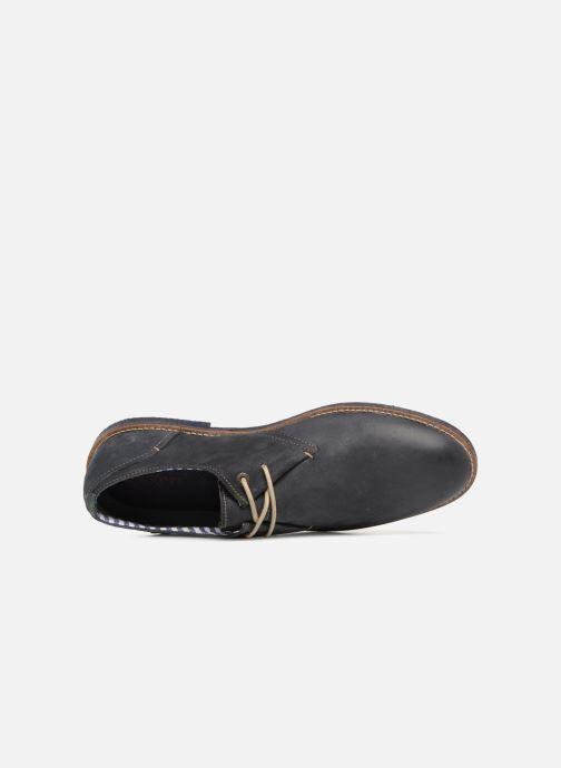 Chaussures à lacets Kickers Backus Bleu vue gauche