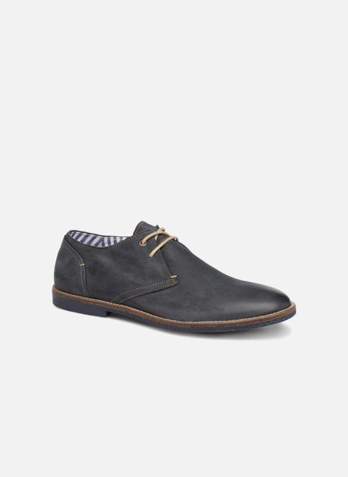 Chaussures à lacets Kickers Backus Bleu vue détail/paire