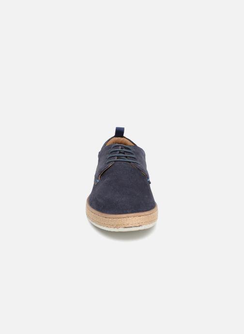 Chaussures à lacets Kickers Cordou M Bleu vue portées chaussures