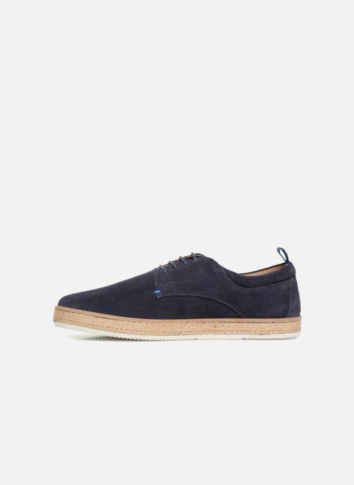 Chaussures à lacets Kickers Cordou M Bleu vue face