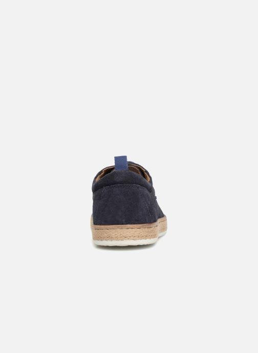 Chaussures à lacets Kickers Cordou M Bleu vue droite