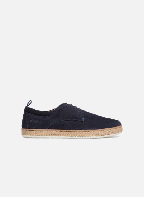 Chaussures à lacets Kickers Cordou M Bleu vue derrière