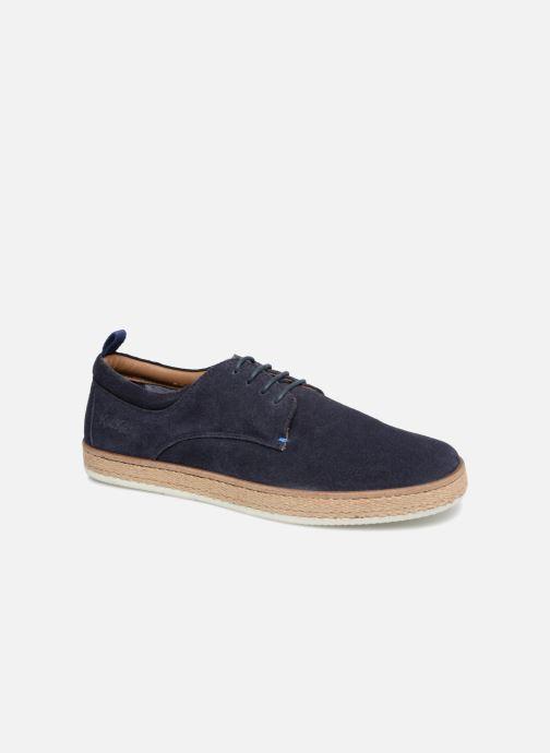 Chaussures à lacets Kickers Cordou M Bleu vue détail/paire