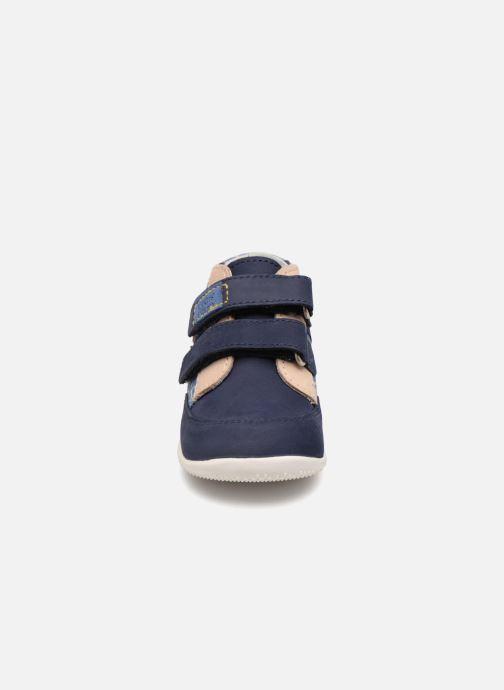 Bottines et boots Kickers Bigoukro Bleu vue portées chaussures
