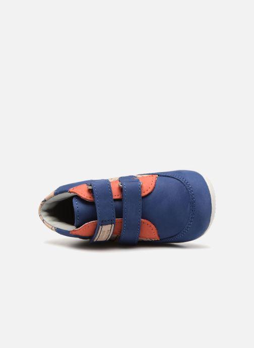 Bottines et boots Kickers Bigoukro Bleu vue gauche