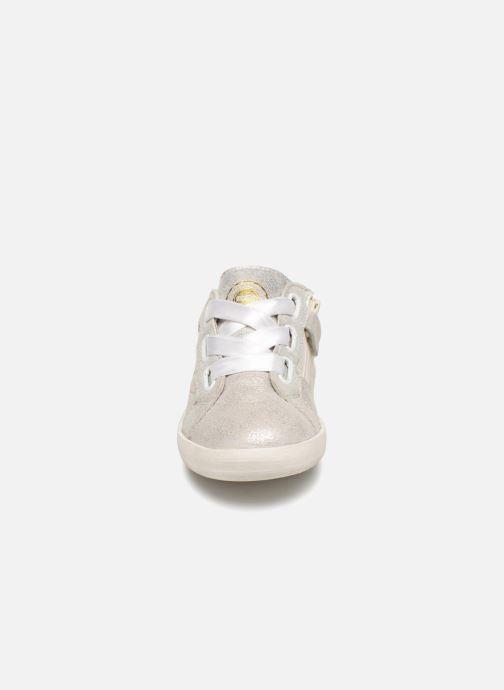Sneaker Kickers Haston silber schuhe getragen
