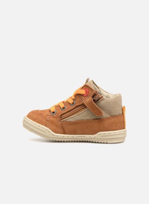 Sneakers Kickers Jargon BB Marrone immagine frontale