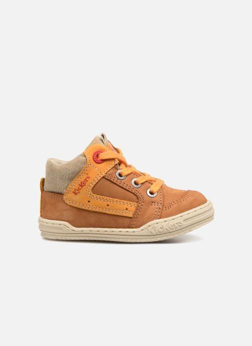 Sneakers Kickers Jargon BB Marrone immagine posteriore