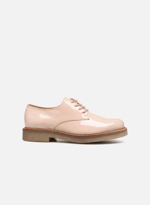 Chaussures à lacets Kickers Oxfork K Beige vue derrière