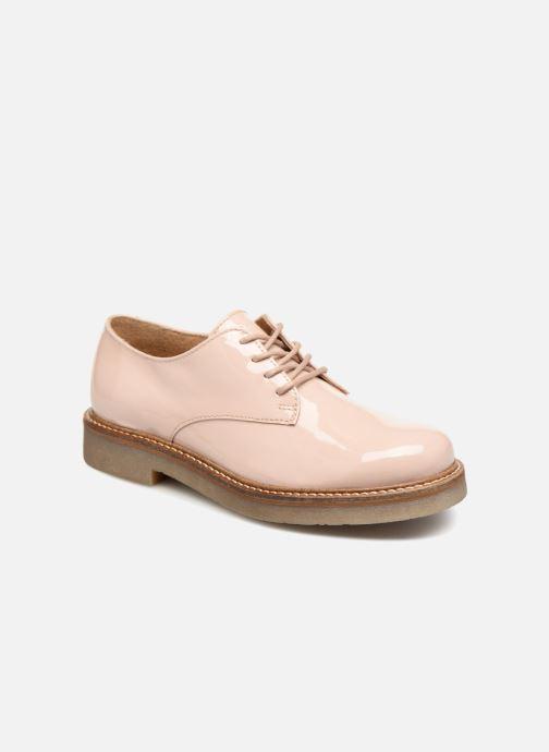 Chaussures à lacets Kickers Oxfork K Beige vue détail/paire