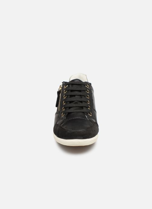 Baskets Geox D MYRIA D8468B Noir vue portées chaussures
