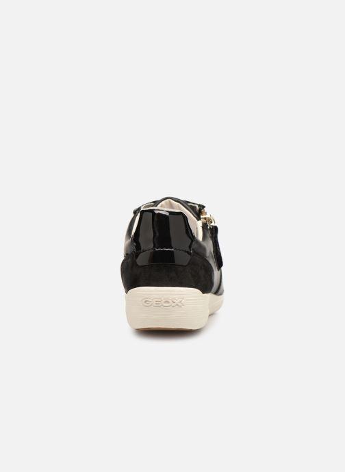 Baskets Geox D MYRIA D8468B Noir vue droite