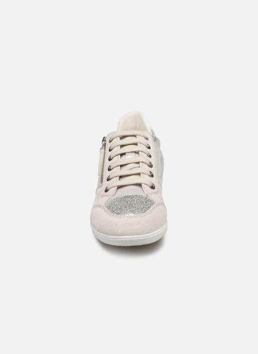 Baskets Geox D MYRIA D8468B Argent vue portées chaussures