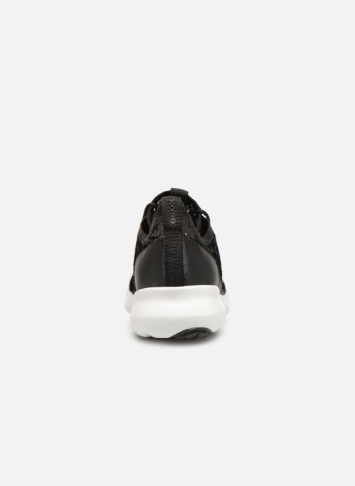 Trainers Geox D NEBULA A D92BHA Black view from the right