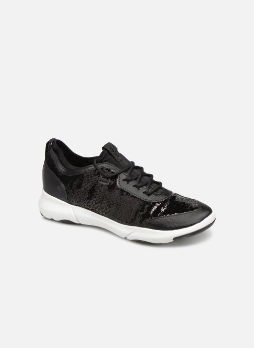 Trainers Geox D NEBULA A D92BHA Black detailed view/ Pair view