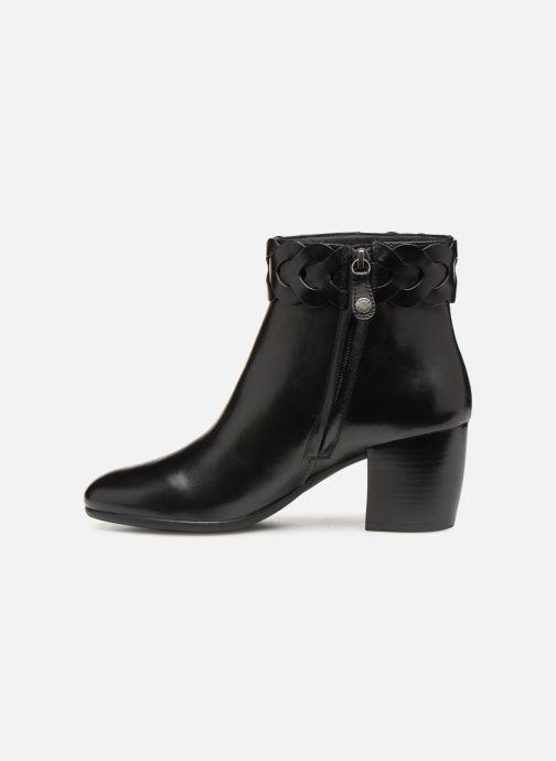 Boots en enkellaarsjes Geox D NEW LUCINDA A D92AMA Zwart voorkant