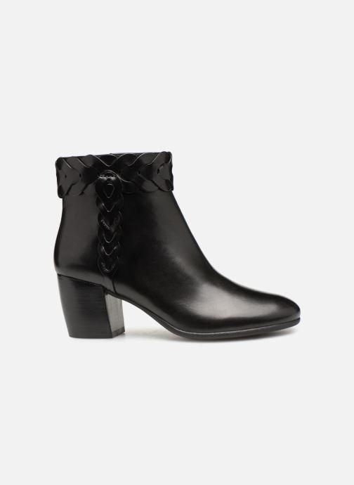 Boots en enkellaarsjes Geox D NEW LUCINDA A D92AMA Zwart achterkant