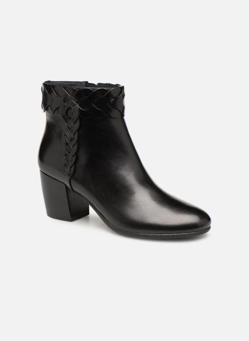Boots en enkellaarsjes Geox D NEW LUCINDA A D92AMA Zwart detail