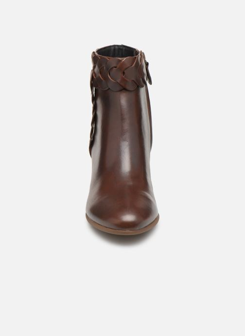 Ankle boots Geox D NEW LUCINDA A D92AMA Brown model view