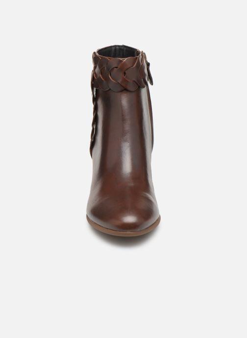 Bottines et boots Geox D NEW LUCINDA A D92AMA Marron vue portées chaussures