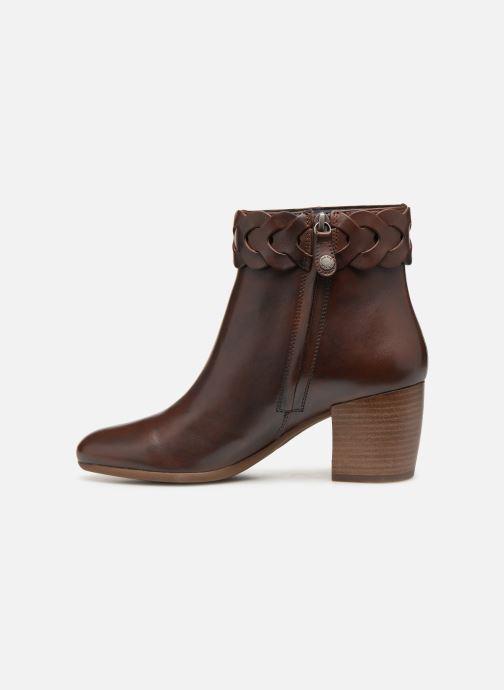 Boots en enkellaarsjes Geox D NEW LUCINDA A D92AMA Bruin voorkant
