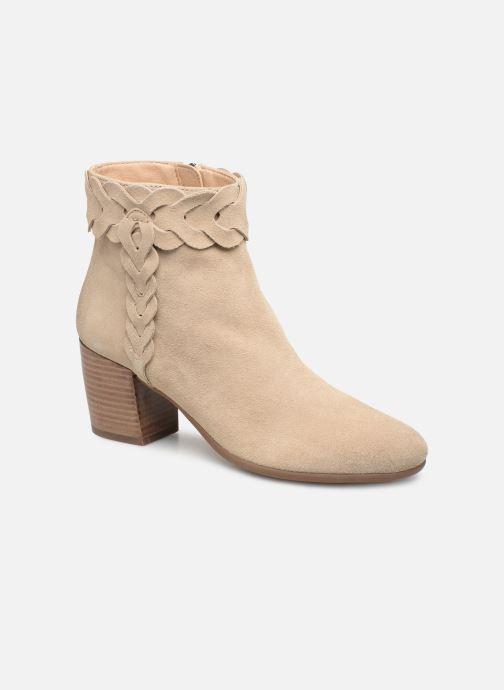 Bottines et boots Geox D NEW LUCINDA A D92AMA Beige vue détail/paire