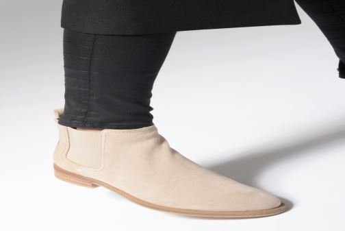 Bottines et boots Geox D BROGUE A D922UA Beige vue bas / vue portée sac
