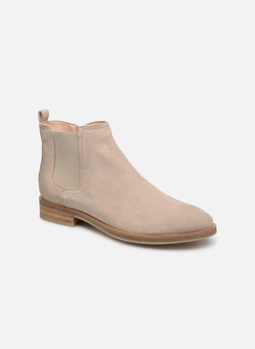 Bottines et boots Geox D BROGUE A D922UA Beige vue détail/paire