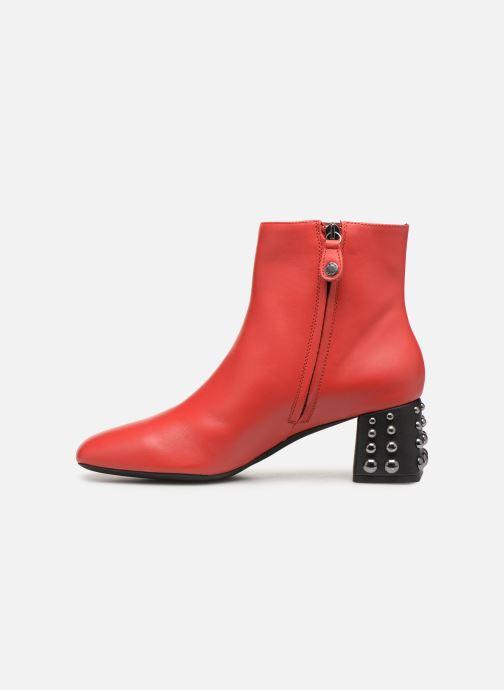 Bottines et boots Geox D SEYLA C D928VC Rouge vue face