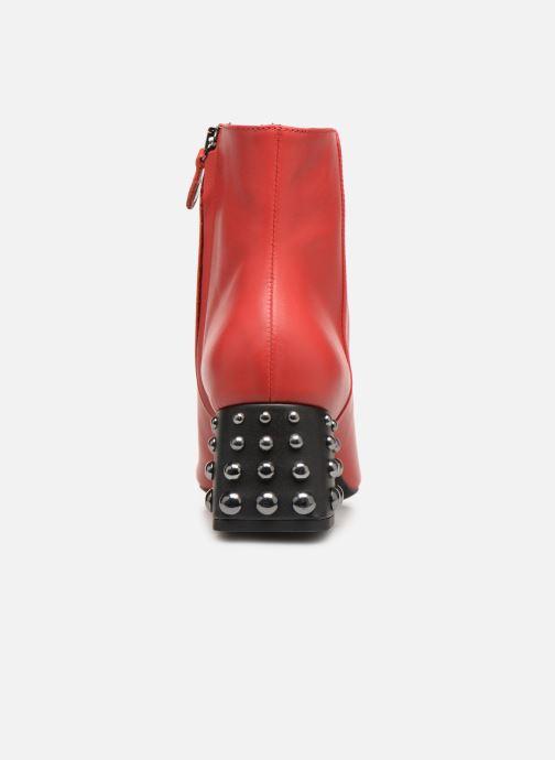 Bottines et boots Geox D SEYLA C D928VC Rouge vue droite
