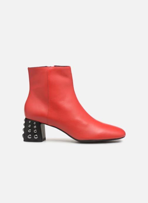 Bottines et boots Geox D SEYLA C D928VC Rouge vue derrière