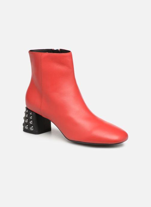 Bottines et boots Geox D SEYLA C D928VC Rouge vue détail/paire