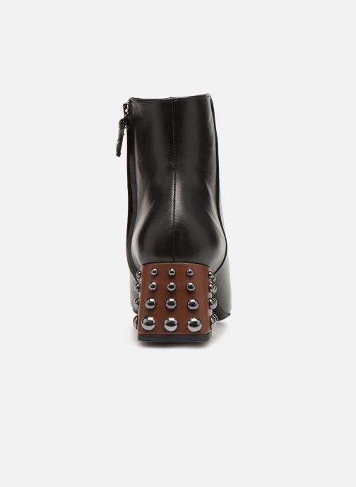 Bottines et boots Geox D SEYLA C D928VC Noir vue droite