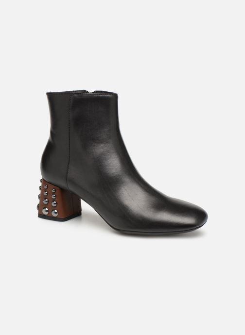Bottines et boots Geox D SEYLA C D928VC Noir vue détail/paire
