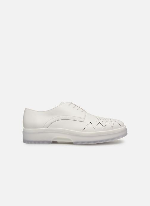 Lace-up shoes Geox D MYLUSE C D929WC White back view