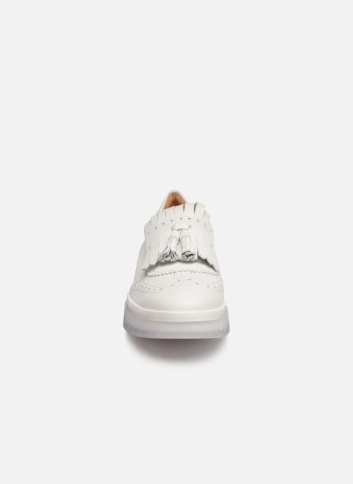 Mocassins Geox D MYLUSE B D929WB Blanc vue portées chaussures