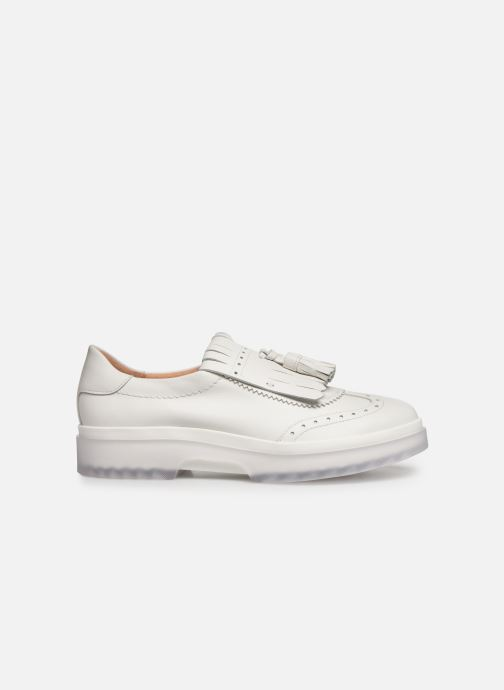 Loafers Geox D MYLUSE B D929WB White back view