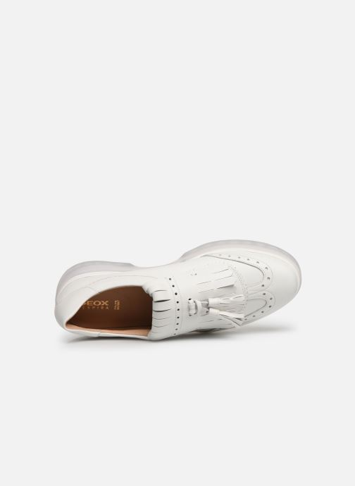 Loafers Geox D MYLUSE B D929WB White view from the left