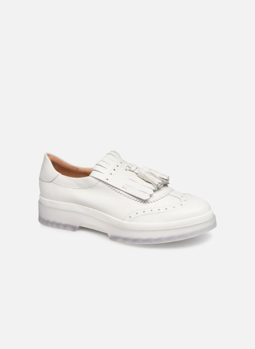 Loafers Geox D MYLUSE B D929WB White detailed view/ Pair view