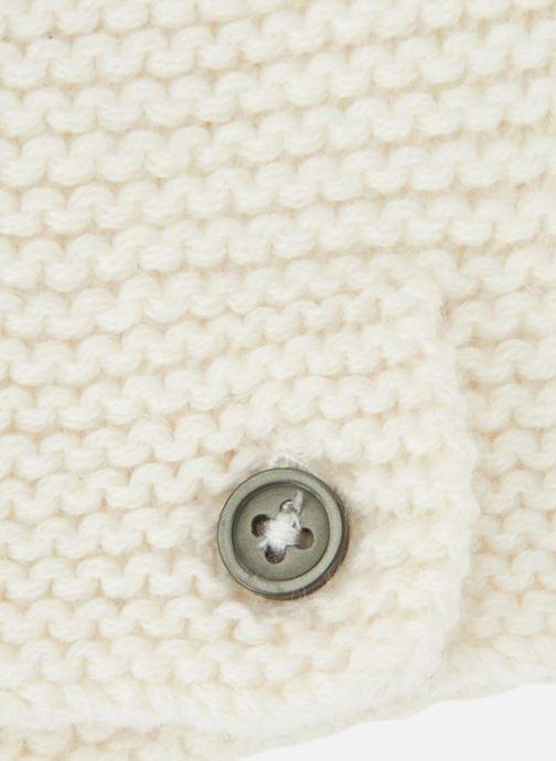 Bonnets Bout'Chou Bonnet mousse Blanc vue portées chaussures