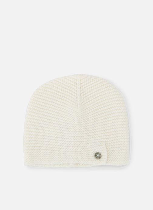 Bonnets Bout'Chou Bonnet mousse Blanc vue détail/paire